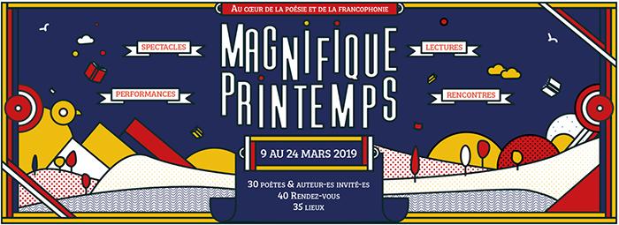 Magnifique Printemps   9 au 24 mars 2019