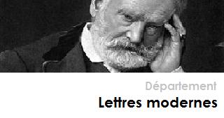 LETTRES - Département Lettres modernes