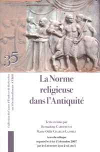 La norme religieuse dans l'antiquité