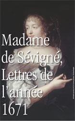 Madame de Sévigné, Lettres de l'année 1671